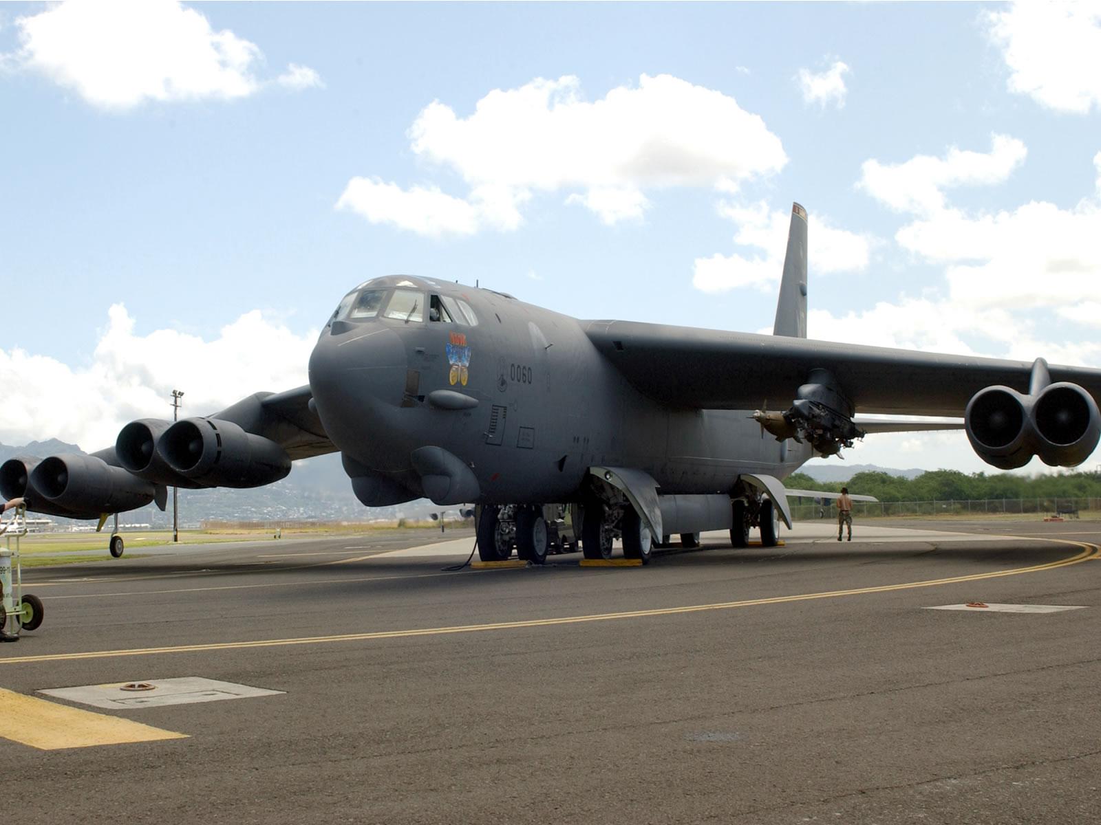 Boeing B52 Stratofortress schwerer Langstreckenbomber